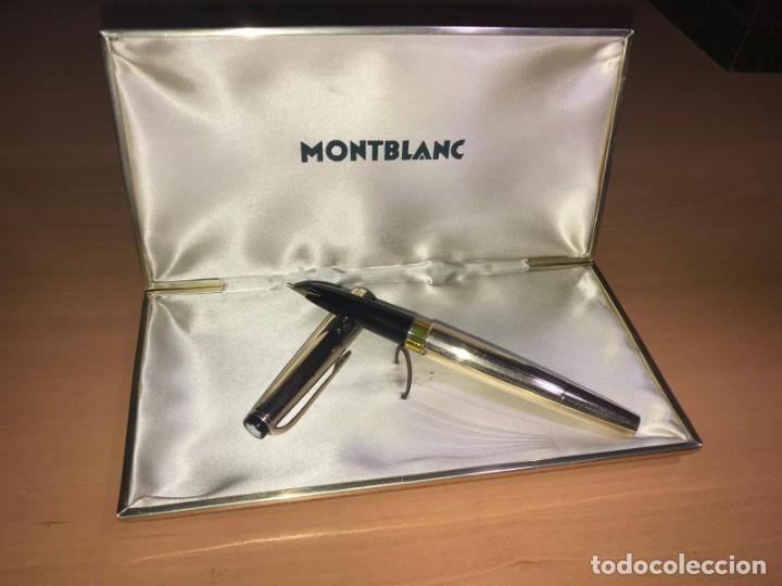 Plumas estilográficas antiguas: Sin estrenar. Pluma Montblanc Meisterstück n°82. Con caja original. Años 60. - Foto 2 - 167754796