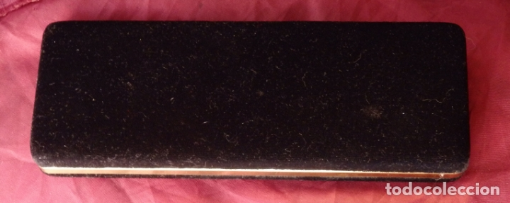 Plumas estilográficas antiguas: PLUMA ESTILOGRAFICA INOXCROM LACADA DE COLOR NEGRO 1985 SIN ESTRENAR - Foto 5 - 168429332