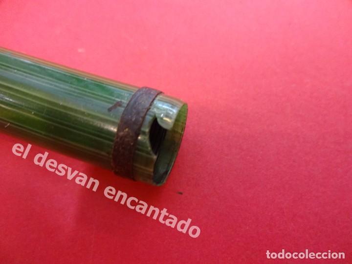 Plumas estilográficas antiguas: Antigua pluma GOLD STARRY a restaurar de color verde - Foto 5 - 168940052