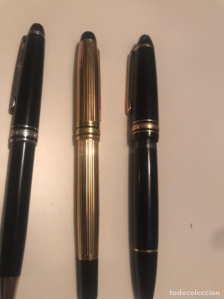 Plumas estilográficas antiguas: montblanc meisterstuck plumas oro 14 Boligrafos - Foto 2 - 171210322
