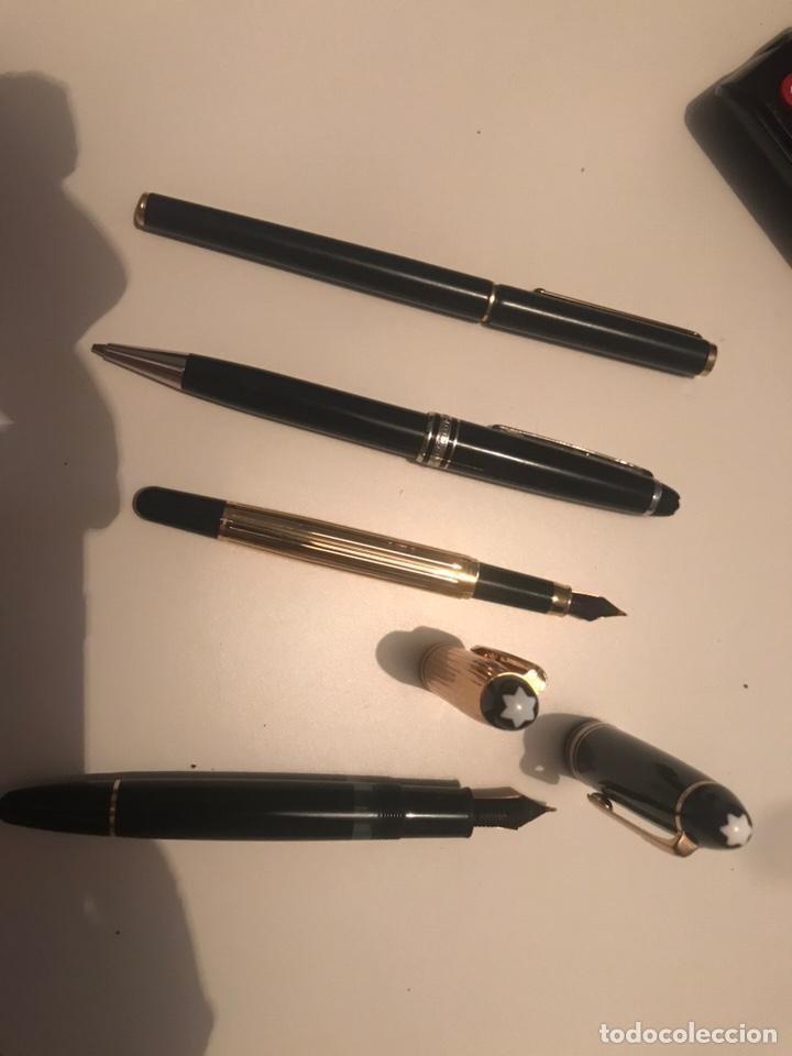 Plumas estilográficas antiguas: montblanc meisterstuck plumas oro 14 Boligrafos - Foto 3 - 171210322