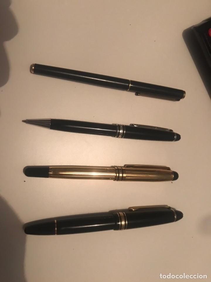 Plumas estilográficas antiguas: montblanc meisterstuck plumas oro 14 Boligrafos - Foto 4 - 171210322