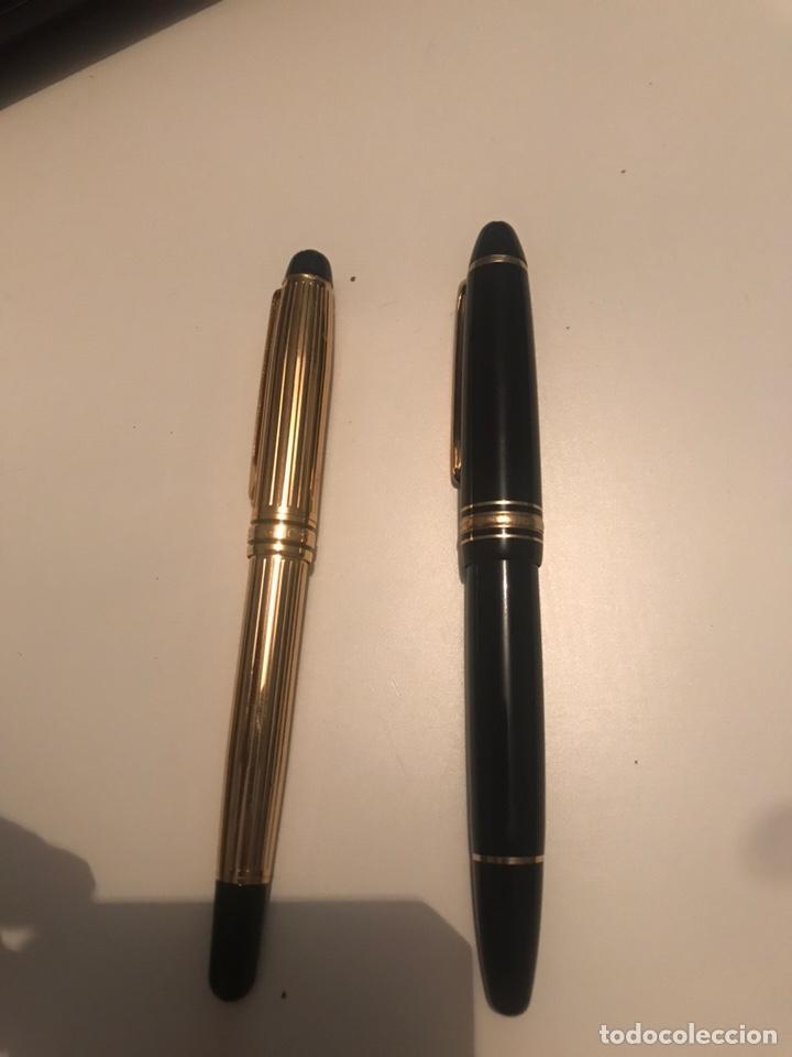 Plumas estilográficas antiguas: montblanc meisterstuck plumas oro 14 Boligrafos - Foto 5 - 171210322