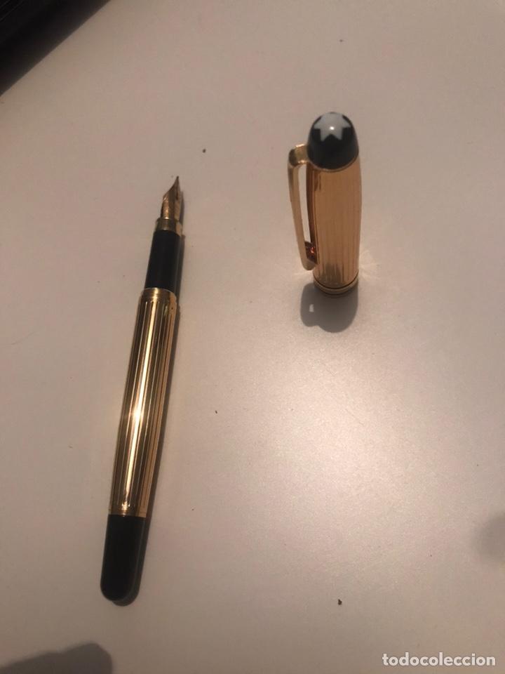 Plumas estilográficas antiguas: montblanc meisterstuck plumas oro 14 Boligrafos - Foto 7 - 171210322
