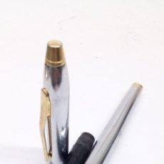 Plumas estilográficas antiguas: PLUMA GENIUS CUERPO ACERO. Lote 171938847