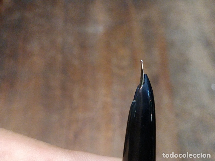 Plumas estilográficas antiguas: PLUMA / ESTILOGRAFICA SHEAFFER CAPUCHON PLATEADO - Foto 7 - 67813409