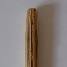 Plumas estilográficas antiguas: PLUMA PARKER 51 ORO 14 K MADE IN USA. Lote 172621710
