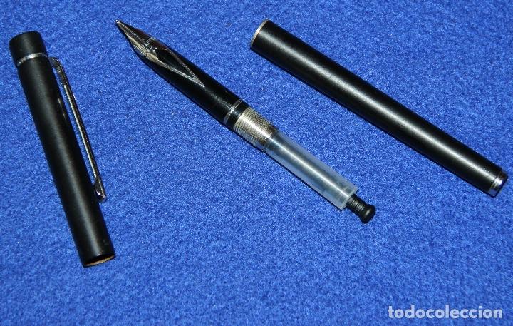 Plumas estilográficas antiguas: PLUMA ESTILOGRAFICA SHEAFFER TARGA 1002 SLIM - Foto 4 - 173143775