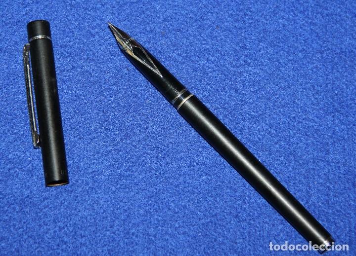 Plumas estilográficas antiguas: PLUMA ESTILOGRAFICA SHEAFFER TARGA 1002 SLIM - Foto 5 - 173143775