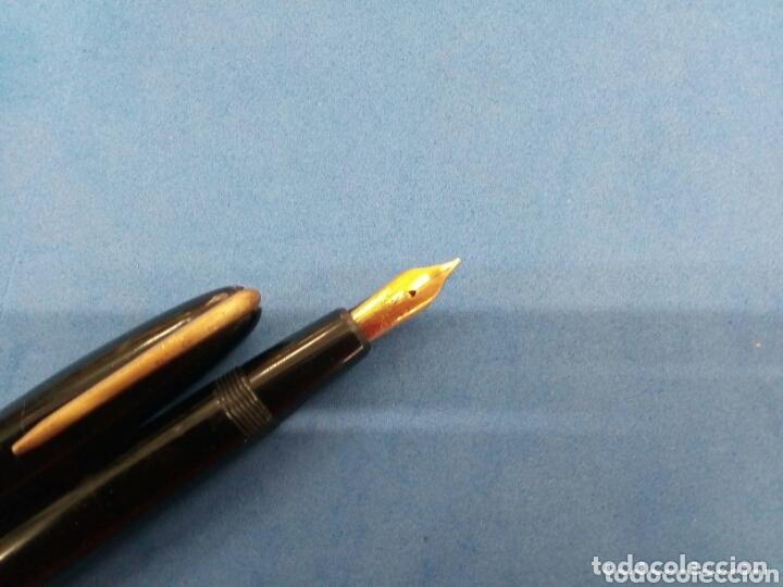 Plumas estilográficas antiguas: Lote de 4 plumas estilográficas antiguas varias marcas - Foto 2 - 174095388