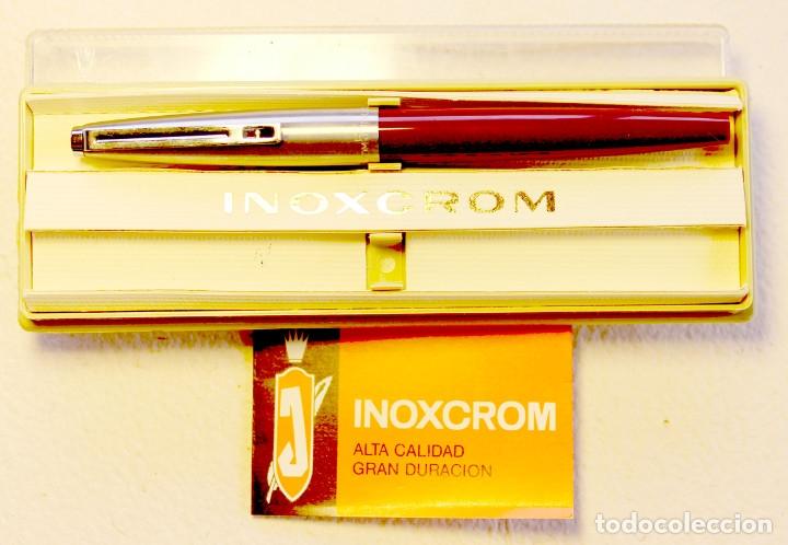 ESTILOGRAFICA INOXCROM 55. NUEVA. (Plumas Estilográficas, Bolígrafos y Plumillas - Plumas)