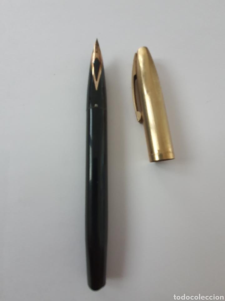 Plumas estilográficas antiguas: Preciosa pluma SHEAFER con plumin de oro de 14 kt. - Foto 2 - 175411928