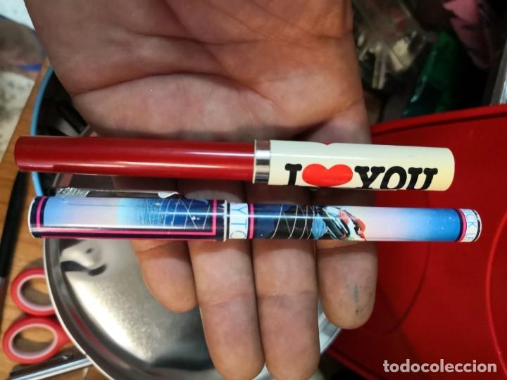 Plumas estilográficas antiguas: BOLIGRAFO VINTAGE I LOVE YOU DE SHEAFFER MADE IN USA más otra de regalo - Foto 5 - 175973788