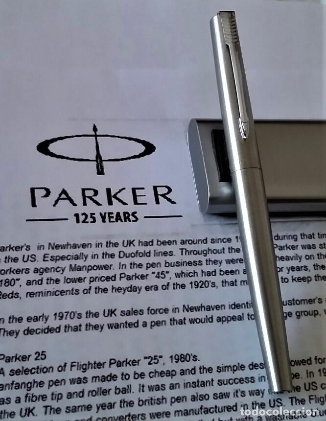 Plumas estilográficas antiguas: PLUMA ESTILOGRAFICA PARKER JOTTER - Foto 2 - 176670247