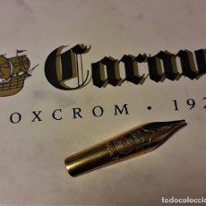 Plumas estilográficas antiguas: PLUMIN M PARA PLUMA INOXCROM CARAVEL II (LA FINITA). Lote 176853065