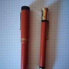 Plumas estilográficas antiguas: PARKER DUOFOLD LUCKY CURVE USA. Lote 176905769