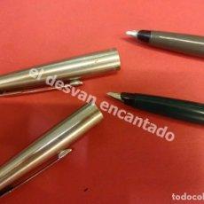 Plumas estilográficas antiguas: LOTE DOS ANTIGUAS PLUMAS PARKER EN ESTADO CORRECTO. Lote 177261085