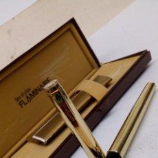 Plumas estilográficas antiguas: PLUMA FLAMINAIRE GOLDPEN. Lote 179537132