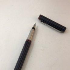 Plumas estilográficas antiguas: PLUMA ESTILOGRÁFICA PARKER MADE EN UK EN PERFECTO ESTADO. Lote 180012542