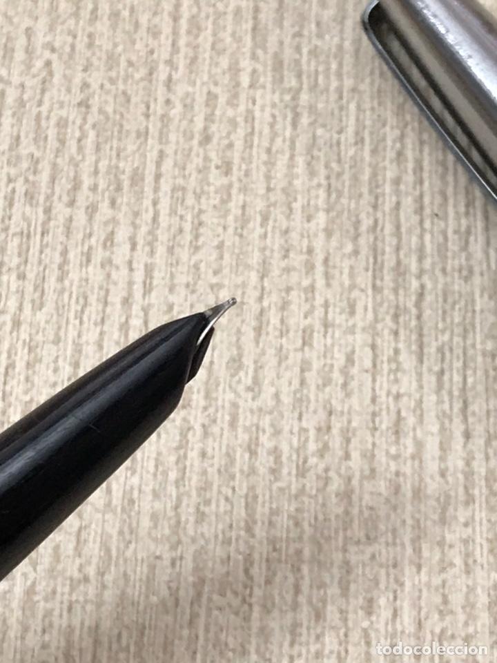 Plumas estilográficas antiguas: Pluma estilográfica inoxcrom 33 como nuevo - Foto 4 - 183085832