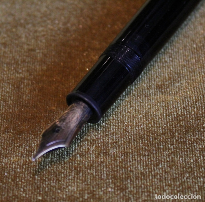 Plumas estilográficas antiguas: Pluma estilográfica Montblanc modelo Meisterstuck 4810.Plumín 14K. - Foto 3 - 83082726