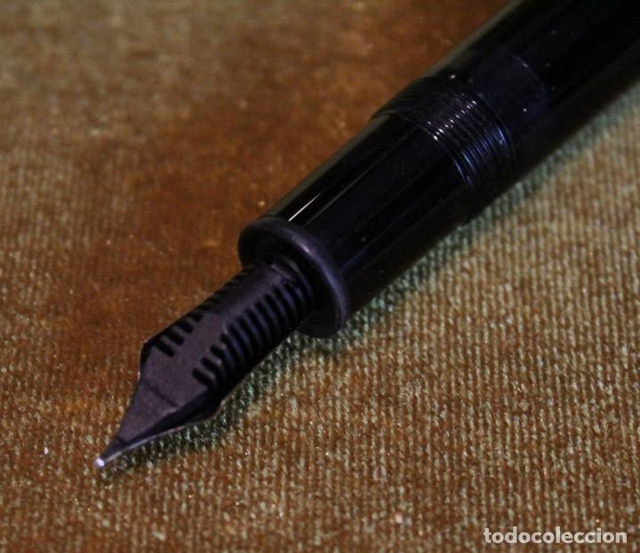 Plumas estilográficas antiguas: Pluma estilográfica Montblanc modelo Meisterstuck 4810.Plumín 14K. - Foto 4 - 83082726