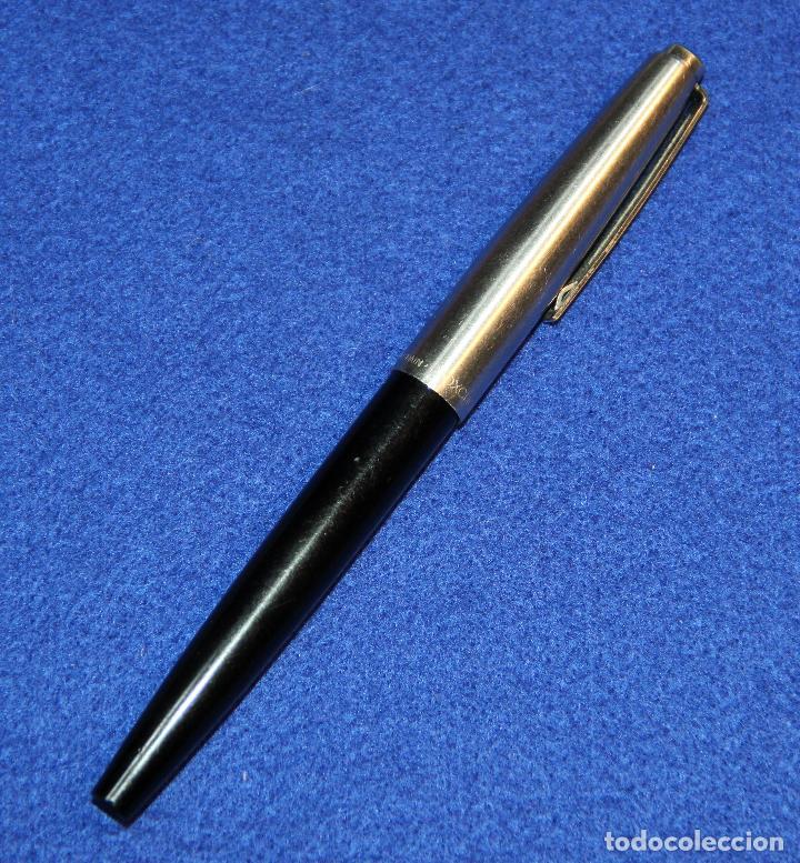 Plumas estilográficas antiguas: ANTIGUA PLUMA ESTILOGRAFICA INOXCROM 55 MODELO ULTIMO - Foto 4 - 183584726