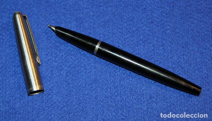Plumas estilográficas antiguas: ANTIGUA PLUMA ESTILOGRAFICA INOXCROM 55 MODELO ULTIMO - Foto 6 - 183584726
