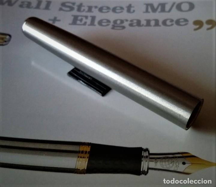 Plumas estilográficas antiguas: CUERPO BARRIL NUEVO PARA PLUMA INOXCROM WALL STREET - Foto 2 - 184365713