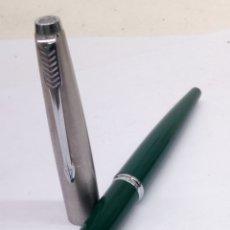 Penne stilografiche antiche: PLUMA PARKER 45 LACADO VERDE. Lote 185734281