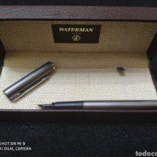 Plumas estilográficas antiguas: WATERMAN PLUMA +CAJA. Lote 185751528