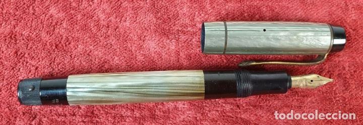 Plumas estilográficas antiguas: PLUMA ESTILOGRÁFICA. KAWECO TRANSPARENT. MODELO 3000 EF. ALEMANIA. AÑOS 40. - Foto 5 - 185952792