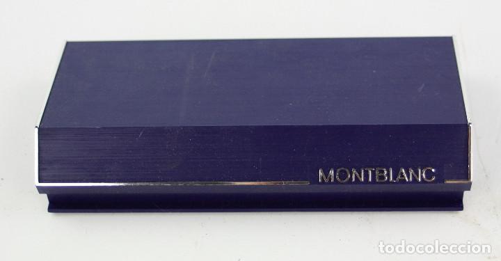 Plumas estilográficas antiguas: PLUMA MONTBLANC EN CAJA ORIGINAL. - Foto 5 - 190692592