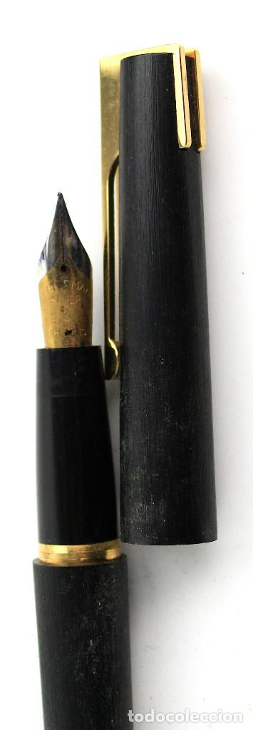Plumas estilográficas antiguas: PLUMA MONTBLANC EN CAJA ORIGINAL. - Foto 9 - 190692592