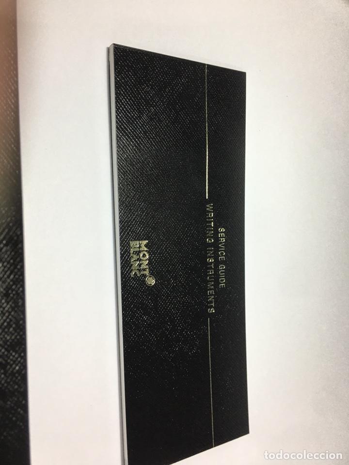Plumas estilográficas antiguas: Reloj Montblanc Meisterstuck 149 plumin oro 18 kl escritura M adornos oro nueva - Foto 10 - 190866535