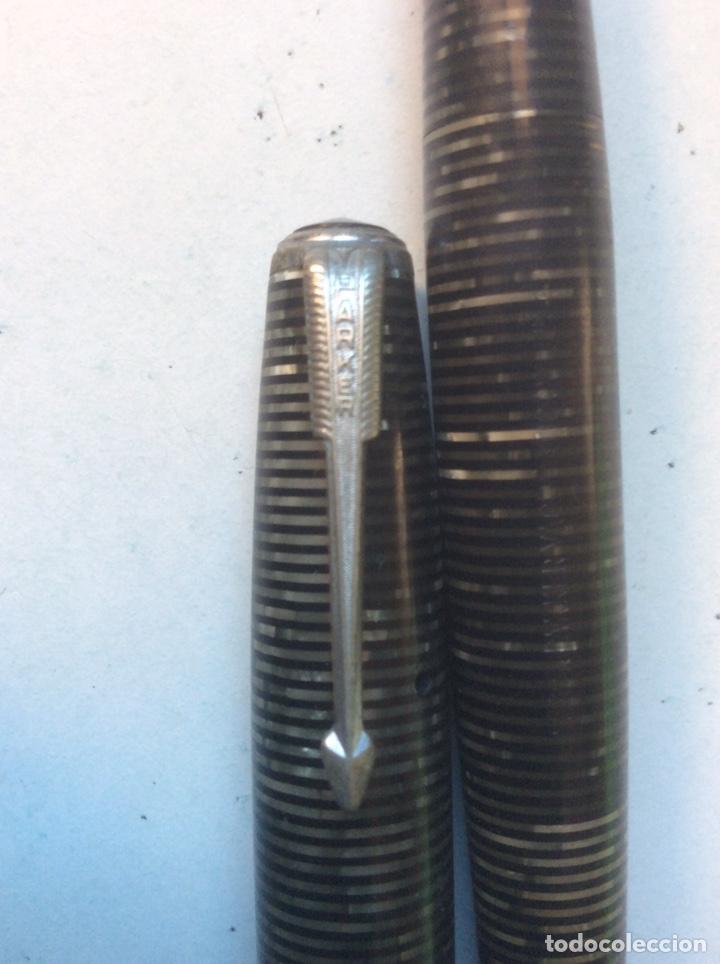 Plumas estilográficas antiguas: PLUMA ESTILOGRÁFICA PARKER VACUMATIC (USA) - Foto 3 - 191268032