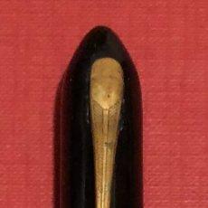 Plumas estilográficas antiguas: ANTIGUA PLUMA ESTILOGRAFICA AMERICANA, CON PLUMIN VISAVAC. VELVETOUCH 14K GOLD PLATE.. Lote 192667113