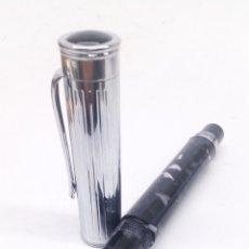 Stylos-plume anciens: PLUMA GRAN CALIDAD CUERPO NACARADO. Lote 194070263