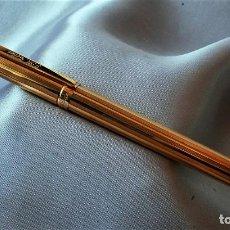 Plumas estilográficas antiguas: S.T. DUPONT CLASSIQUE DORADA. Lote 194542078