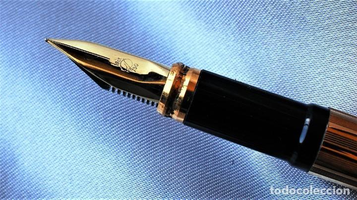 Plumas estilográficas antiguas: S.T. DUPONT CLASSIQUE dorada - Foto 4 - 194542078