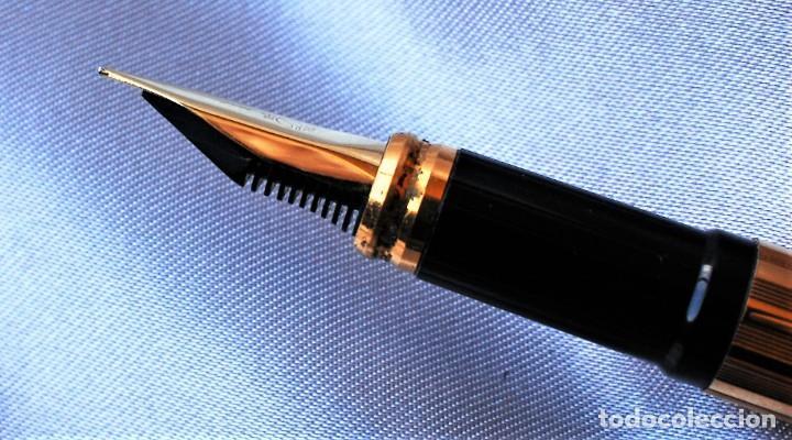 Plumas estilográficas antiguas: S.T. DUPONT CLASSIQUE dorada - Foto 5 - 194542078