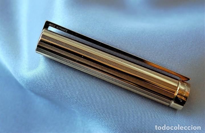 Plumas estilográficas antiguas: S.T. DUPONT CLASSIQUE dorada - Foto 11 - 194542078