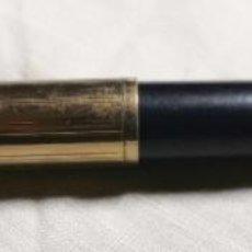 Plumas estilográficas antiguas: EST003 PLUMA CON CARGADOR AEROMÉTRICO. CELULOIDE. SIN MARCA. AÑOS 50. Lote 194925733