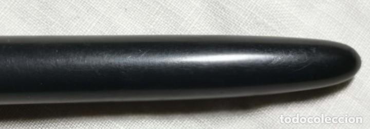 Plumas estilográficas antiguas: EST003 PLUMA CON CARGADOR AEROMÉTRICO. CELULOIDE. SIN MARCA. AÑOS 50 - Foto 4 - 194925733