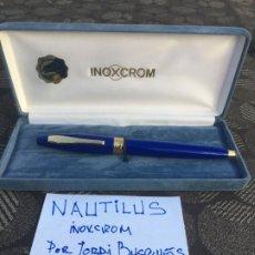 Plumas estilográficas antiguas: INOXCROM NAUTILUS ( 1996 - 2000 ) IMPOLUTO EN SU CAJA .. Lote 194945480