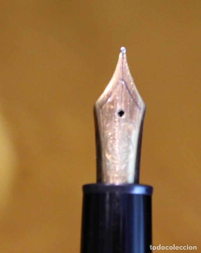 Plumas estilográficas antiguas: Pluma estilográfica Montblanc modelo Meisterstuck 4810.Plumín 14K. - Foto 7 - 83082726