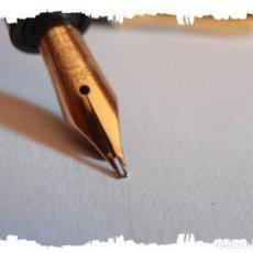 Plumas estilográficas antiguas: KAWECO 3000 F. 14K-585. TOTALMENTE ORIGINAL CIRCA DE 1940 FLEXIBLE. Lote 195295843