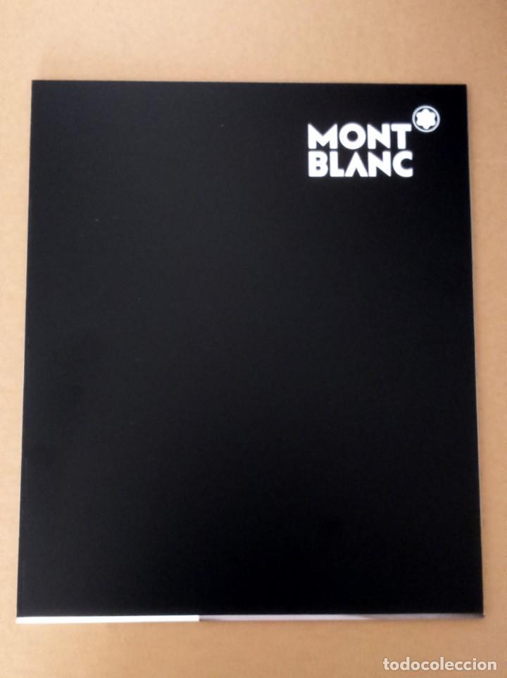 Plumas estilográficas antiguas: Fantástico cartel expositor Montblanc Muses Collection Marilyn Monroe Special Edition Pluma roller - Foto 4 - 195627342