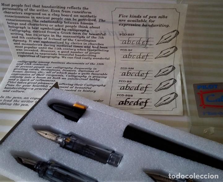 Plumas estilográficas antiguas: PILOT CALLIGRAPHY SET - Foto 11 - 196374768