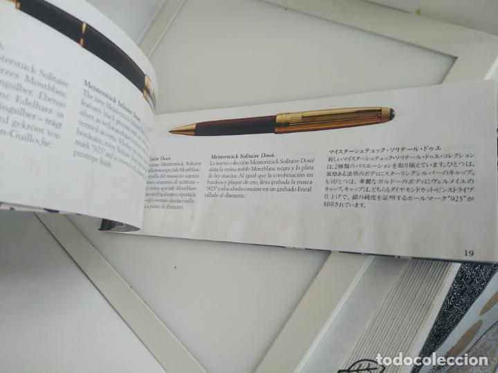 Plumas estilográficas antiguas: Montblanc libro garantía libro instrucciones - Foto 2 - 198973862